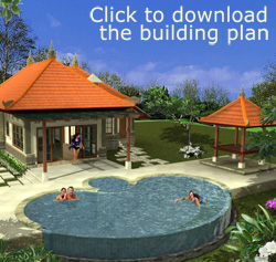 2-bedroom Villa: Click to download the building plan